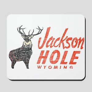 Vintage Jackson Hole Mousepad