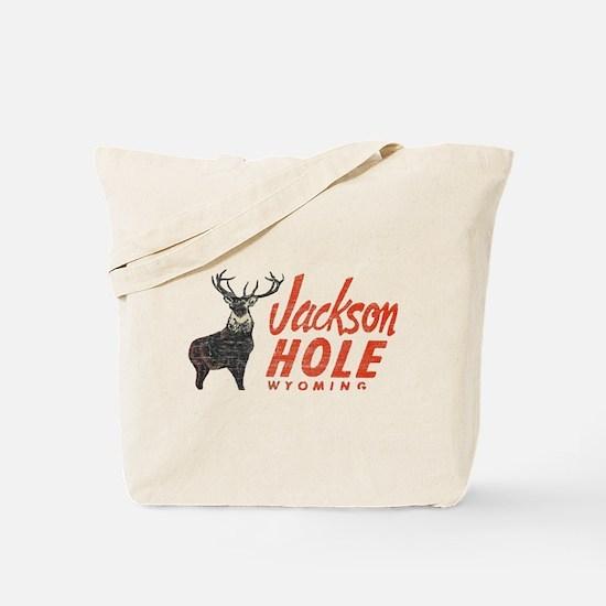 Vintage Jackson Hole Tote Bag