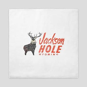 Vintage Jackson Hole Queen Duvet