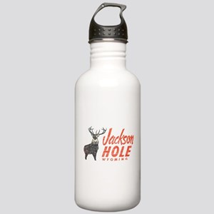 Vintage Jackson Hole Stainless Water Bottle 1.0L
