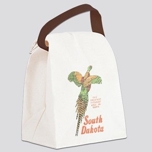 South Dakota Pheasant Canvas Lunch Bag
