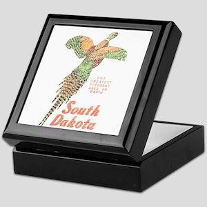 South Dakota Pheasant Keepsake Box