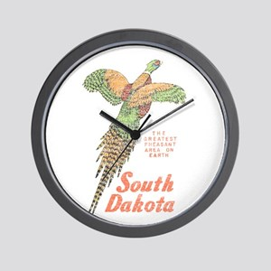 South Dakota Pheasant Wall Clock