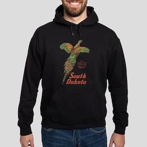 South Dakota Pheasant Hoodie (dark)