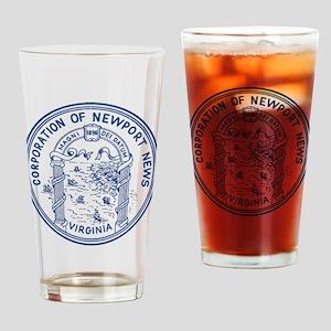 Newport News Virginia Drinking Glass