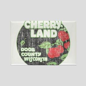 Door County Cherryland Rectangle Magnet (10 pack)
