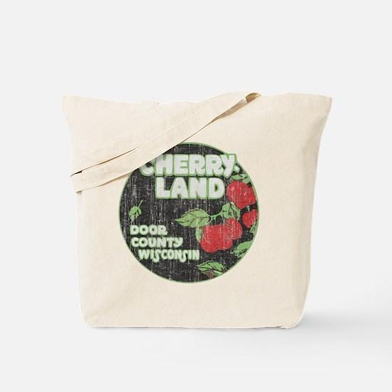 Door County Cherryland Tote Bag