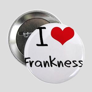 "I Love Frankness 2.25"" Button"