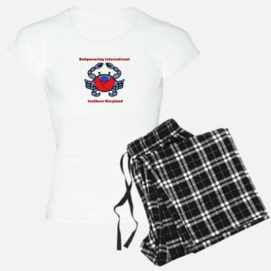 BWI Southern Maryland crab logo Pajamas