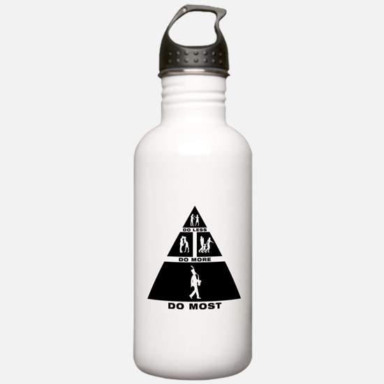Saxophonist Water Bottle