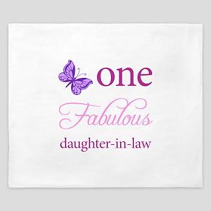 One Fabulous Daughter-In-Law King Duvet