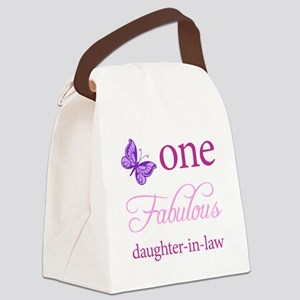 One Fabulous Daughter-In-Law Canvas Lunch Bag