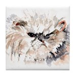 Persian Cat Tile Coaster