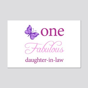 One Fabulous Daughter-In-Law Mini Poster Print
