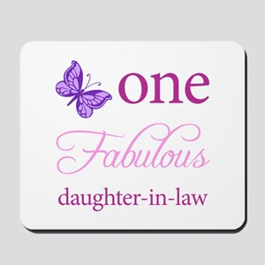 One Fabulous Daughter-In-Law Mousepad