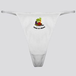 Funny Meals on Wheels Classic Thong