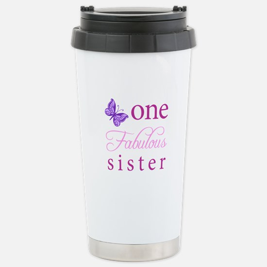 One Fabulous Sister Stainless Steel Travel Mug