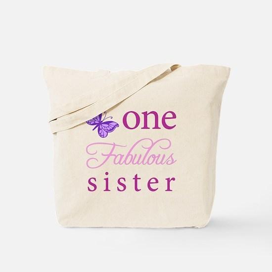 One Fabulous Sister Tote Bag
