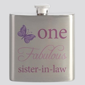 One Fabulous Sister-In-Law Flask