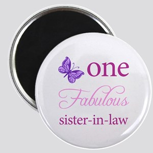 One Fabulous Sister-In-Law Magnet