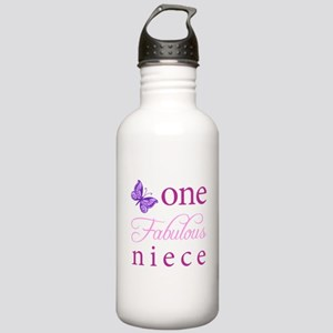 One Fabulous Niece Stainless Water Bottle 1.0L