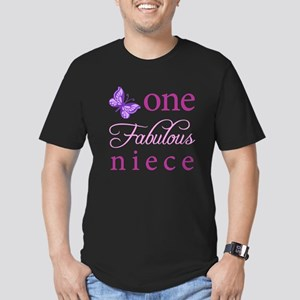 One Fabulous Niece Men's Fitted T-Shirt (dark)