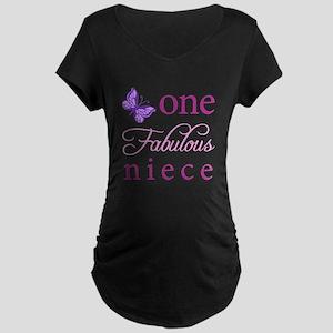 One Fabulous Niece Maternity Dark T-Shirt