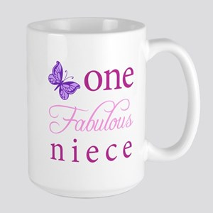 One Fabulous Niece Large Mug