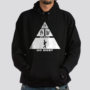 French Horn Player Hoodie (dark)
