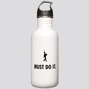 French Horn Player Stainless Water Bottle 1.0L