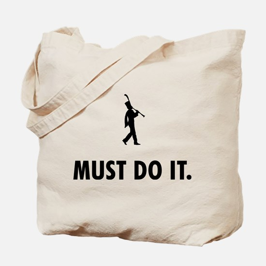 Clarinet Player Tote Bag
