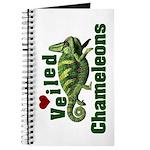 Love Veiled Chameleons Journal