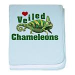 Love Veiled Chameleons baby blanket