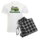 Love Veiled Chameleons Men's Light Pajamas
