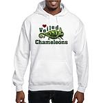 Love Veiled Chameleons Hooded Sweatshirt