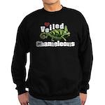 Love Veiled Chameleons Sweatshirt (dark)