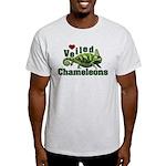 Love Veiled Chameleons Light T-Shirt