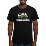 Love Veiled Chameleons Men's Fitted T-Shirt (dark)