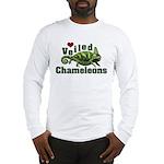 Love Veiled Chameleons Long Sleeve T-Shirt