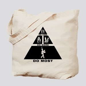 Bass Cymbal Player Tote Bag