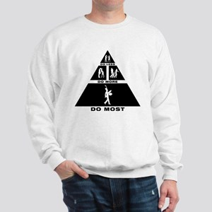Bass Cymbal Player Sweatshirt