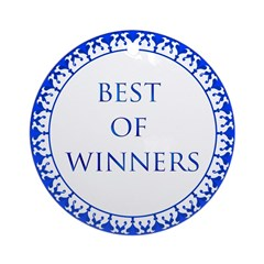 Best Of Winners Ornament (Round)