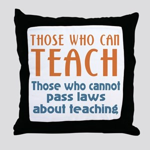 Those Who Can Throw Pillow