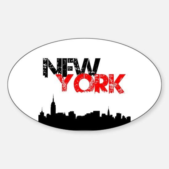 New York Decal