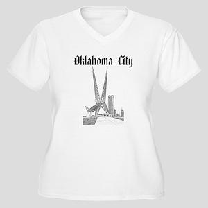 Oklahoma City Women's Plus Size V-Neck T-Shirt
