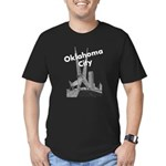 Oklahoma City Men's Fitted T-Shirt (dark)