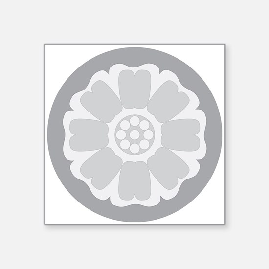 White Lotus Tile Sticker