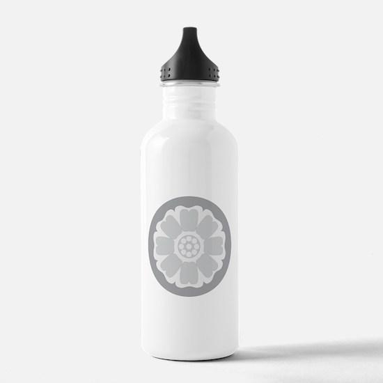 White Lotus Tile Water Bottle