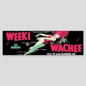 Weeki Wachee Vintage Replica Sticker