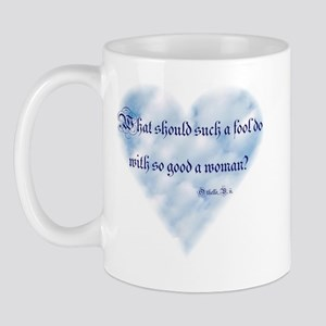 Shakespeare - So Good a Woman Mug